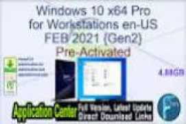 Windows 10 X64 21H1 Pro 3in1 OEM ESD en-US MAY 2021 {Gen2}